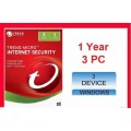 Trend Micro - Titanium internet Security 2018 - 3 PC